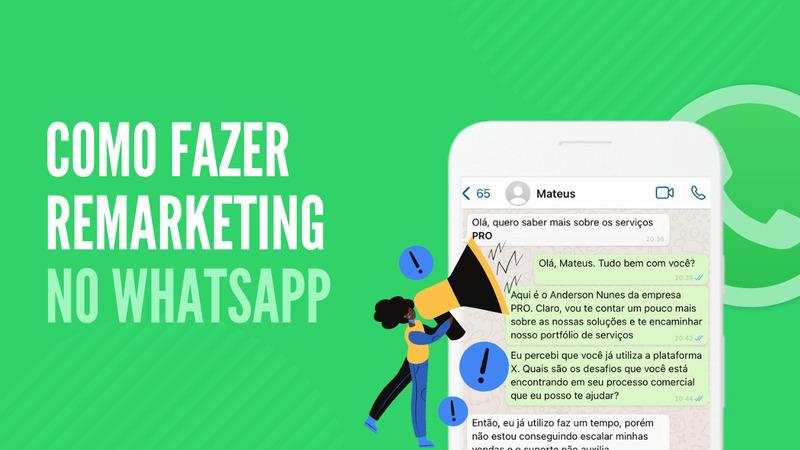 como fazer remarketing no whatsapp